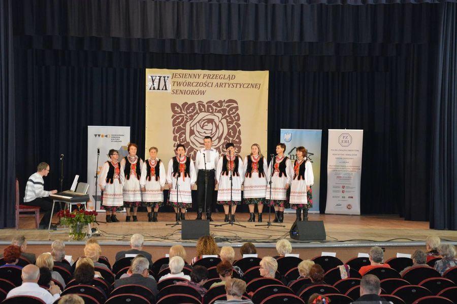 XIX Jesienny Wojewódzki Przegląd Twórczości Artystycznej Seniorów