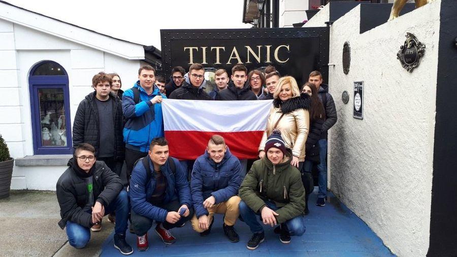 Uczniowie ZSZ 1 w Dęblinie podziwiają Irlandię