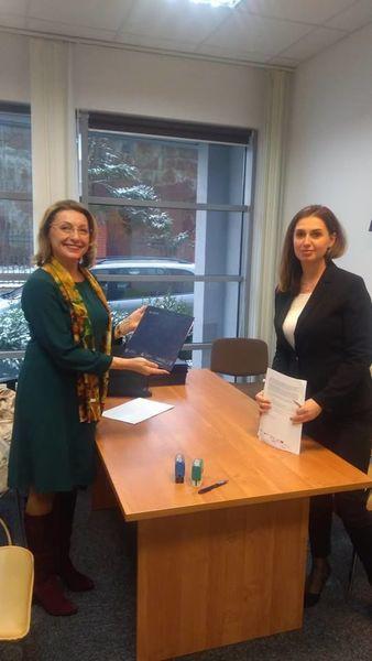 Podpisanie umowy dofinansowania na budowę przedszkola specjalnego  w Dębline