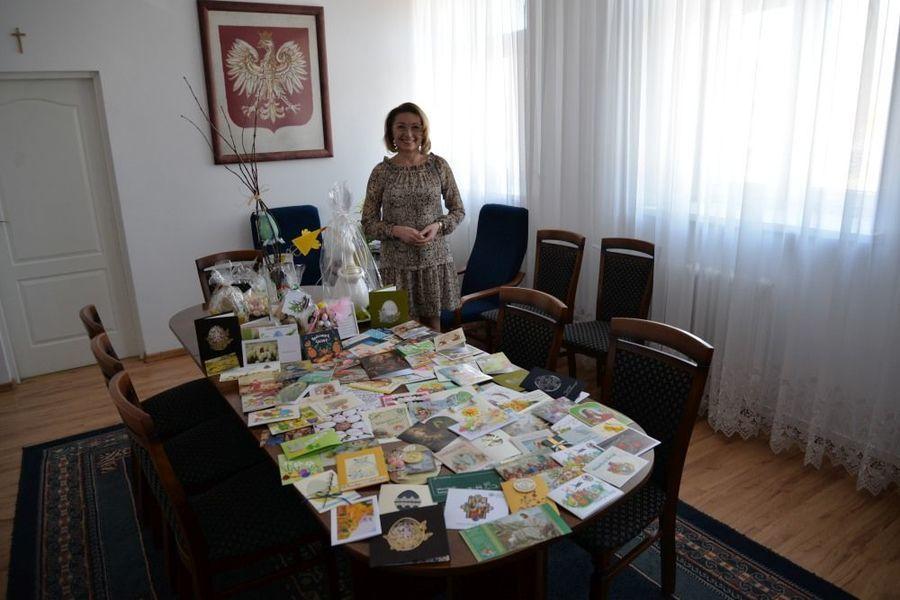 Podziękowania burmistrza Miasta Dęblin za nadesłane życzenia Wielkanocne.