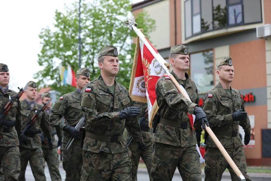 Obchody 228. Rocznica Uchwalenia Konstytucji 3 Maja w Dęblinie
