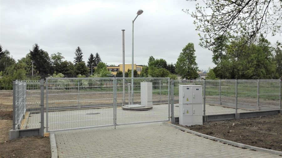 Budowa sieci kanalizacji sanitarnej w osiedlu Rycice zakończona