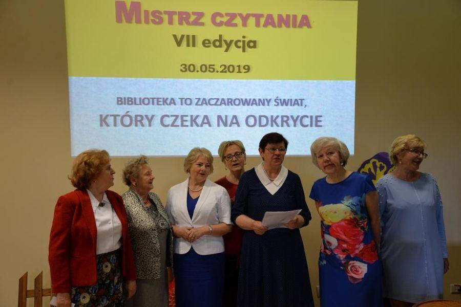 """MBP Filia Masów po raz VII podsumowała konkurs """"Mistrz Czytania""""."""