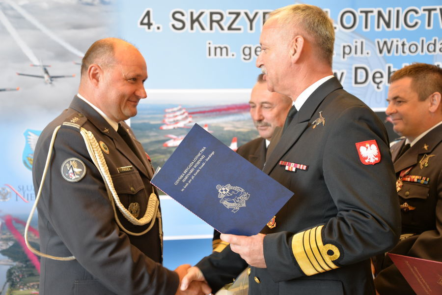 11. rocznica sformowania 4. Skrzydła Lotnictwa Szkolneg