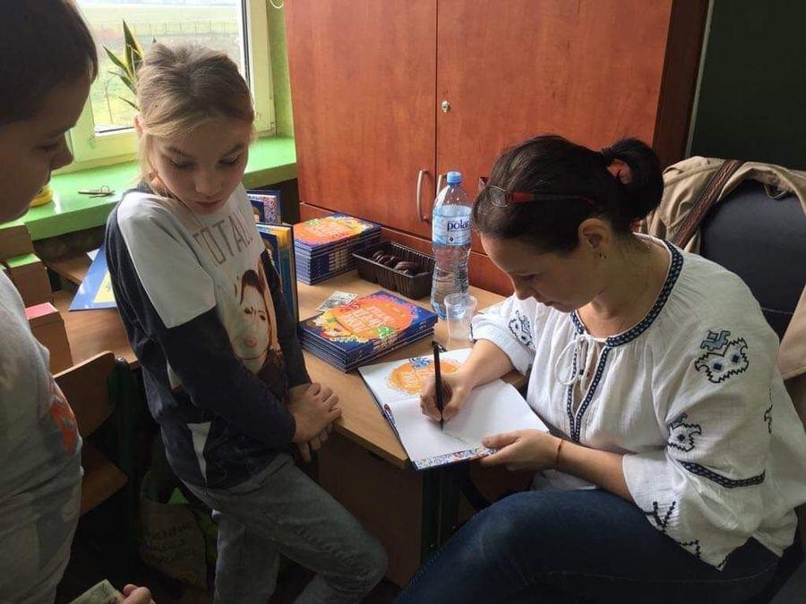 Spotkanie autorskie z Agatą Karpińską w SOSW w Dęblinie