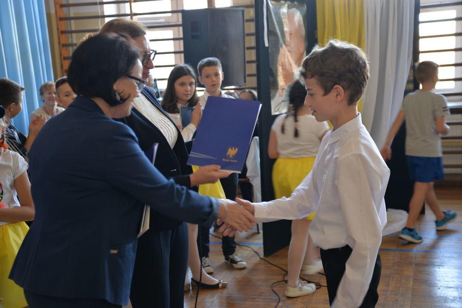 2019-10-16- Wręczenie stypendium Jana Pawła II w ZSO