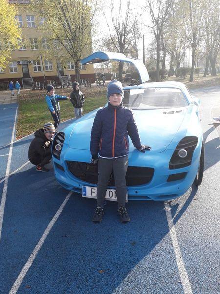 Foton – niezwykły samochód-rower odwiedza SP 5