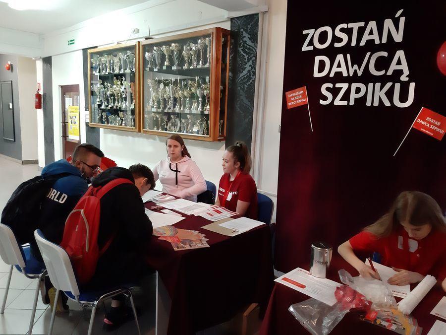 Akcja rejestracyjna Dawców Szpiku w ZSZ nr 2 zakończona!