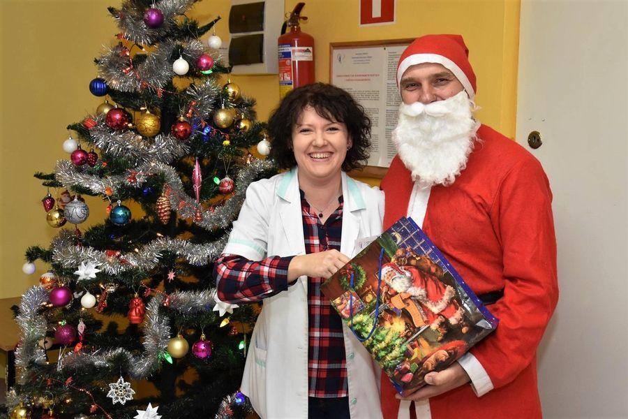 Niespodziewany gość - Święty Mikołaj