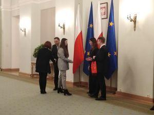 Wizyta w Pałacu Prezydenckim