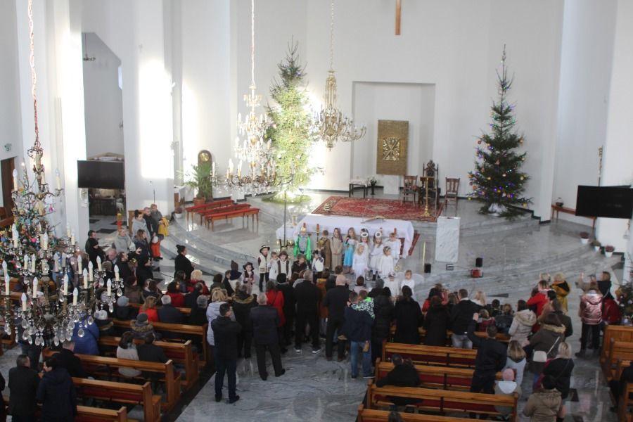 Jasełka w kościele