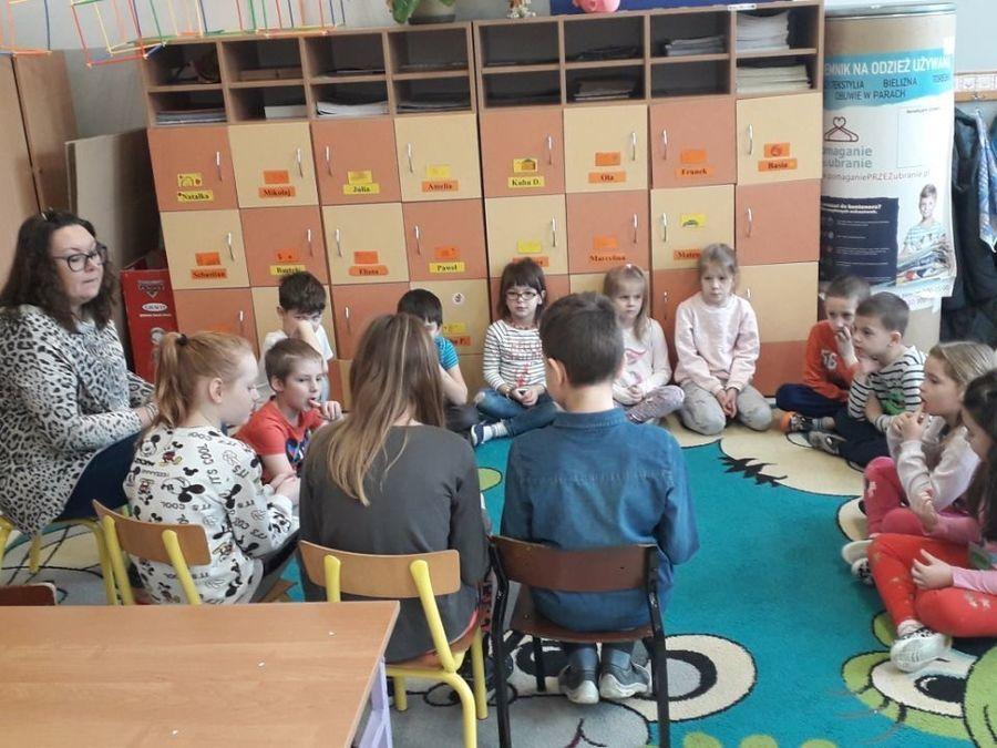 Uczniowie klasy 4a mówią zdecydowane NIE agresji i przemocy w szkole