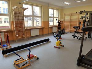 Nowa sala do zajęć ruchowych w ZSO w Dęblinie, czyli metamorfoz ciąg dalszy…