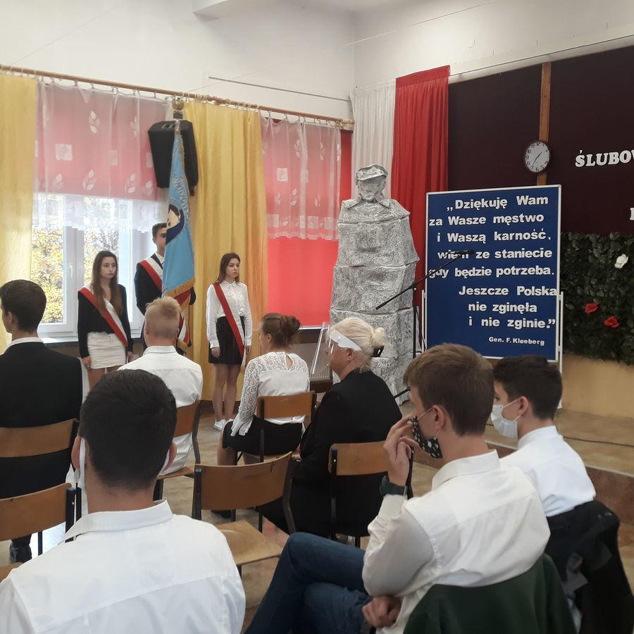 Ślubowanie uczniów klas pierwszych ZSZ nr 1