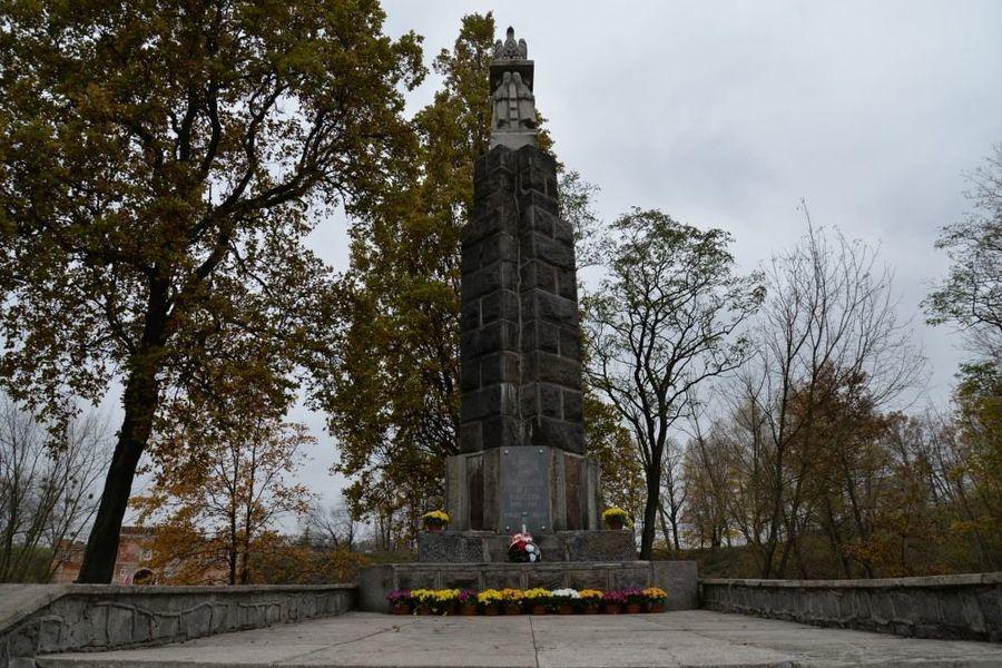 """Pomnik Bohaterów 15 P.P. """"Wilków"""" poległych 1918-1920 w dniu 11 listopada 2020 roku"""