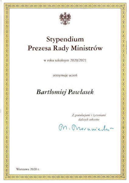 Bartłomiej Pawłasek autor sekretariat szkoły