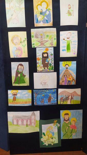 Konkurs o św. Józefie prace uczniów
