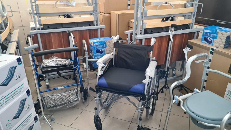 Wypożyczalnia sprzętów dla osób niepełnosprawnych.