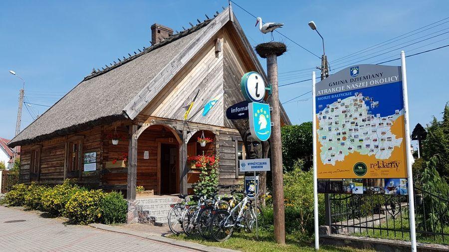Gminne Centrum Informacji Turystycznej w Dziemianach  Serdecznie Zapraszamy codziennie w godzinach 11: 00 - 14:00