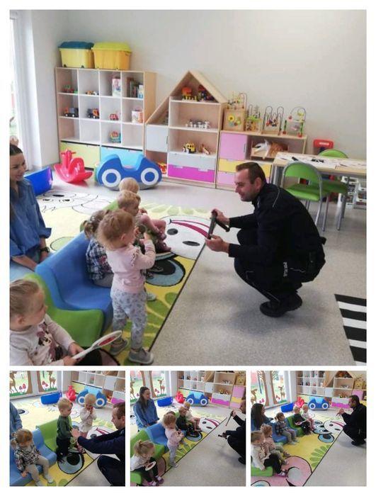 Wizyta Pana Policjanta w Żłobku