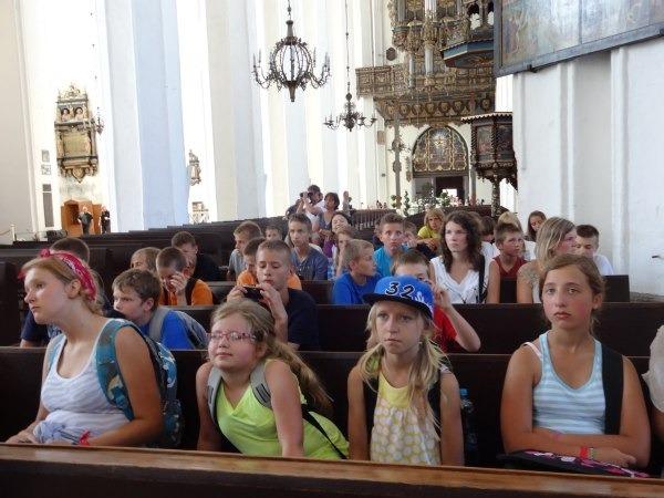Wakacyjny wypoczynek dzieci i młodzieży współfinansowany przez Gminę Garbów 09.08.2013