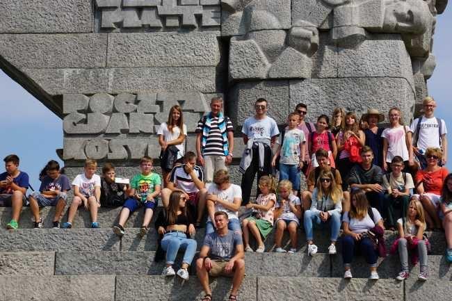 Kolonie dzieci z parafii Garbów