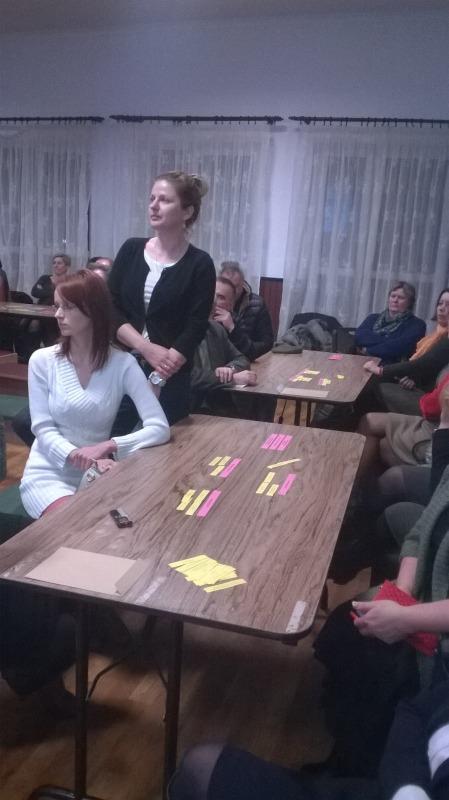 Fotorelacja - Strategia Gminy Garbów- II spotkanie konsultacyjne