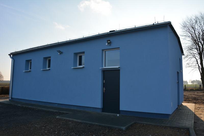 Przebudowa stacji uzdatniania wody w Borkowie