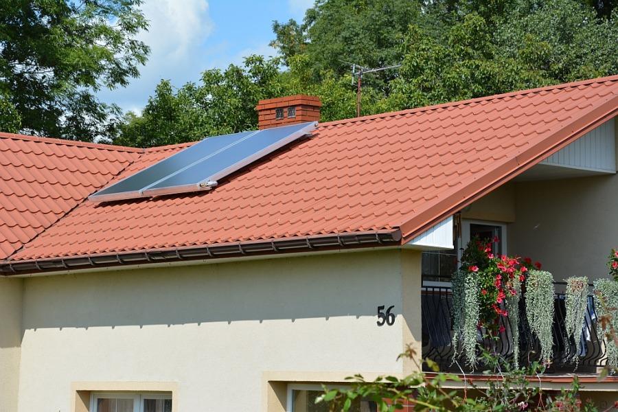 Montaż kolektorów słonecznych 2018