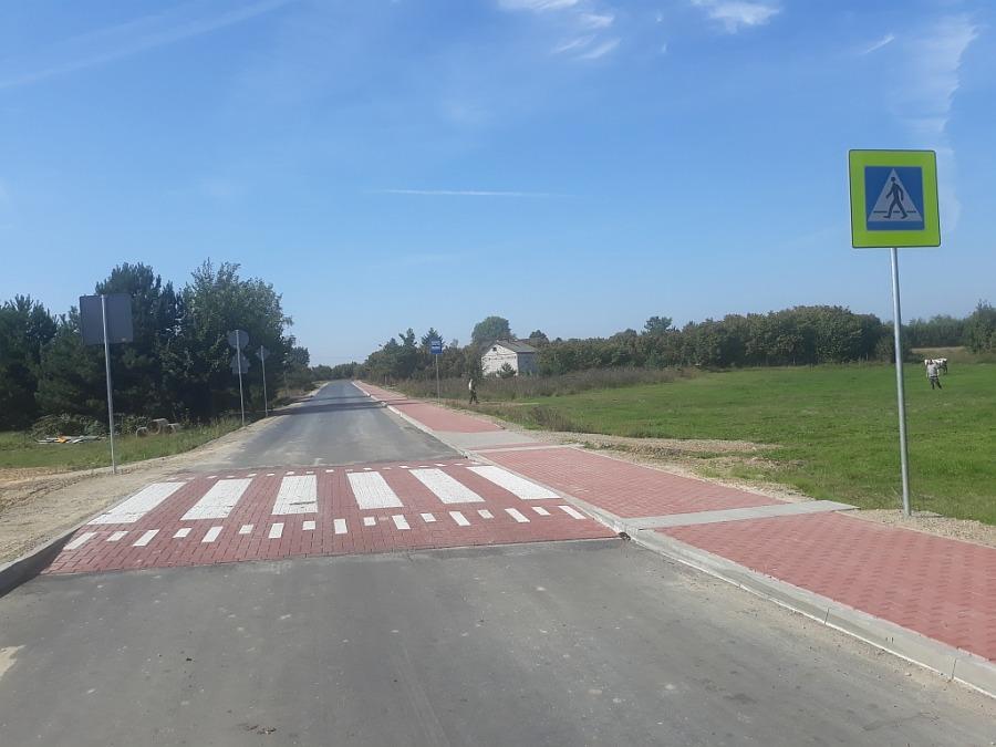 Przebudowa drogi na Woli Przybysławskiej