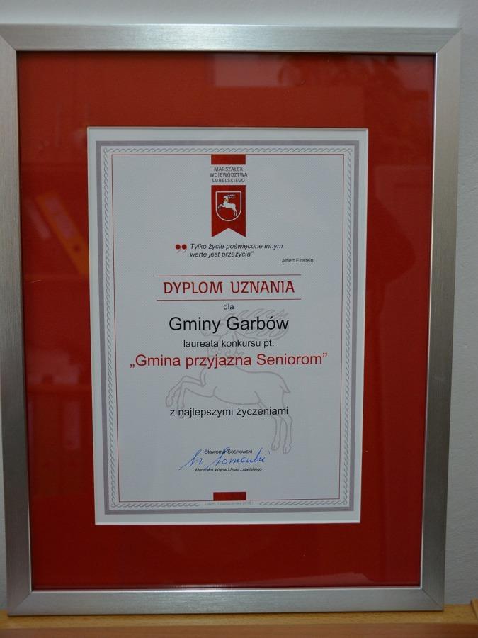 Gmina Garbów przyjazna Seniorom