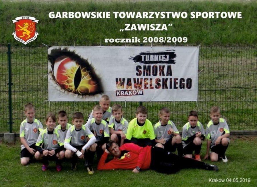 Drużyna Orlików GTS ZAWISZA brała udział w Turnieju Smoka w Krakowie