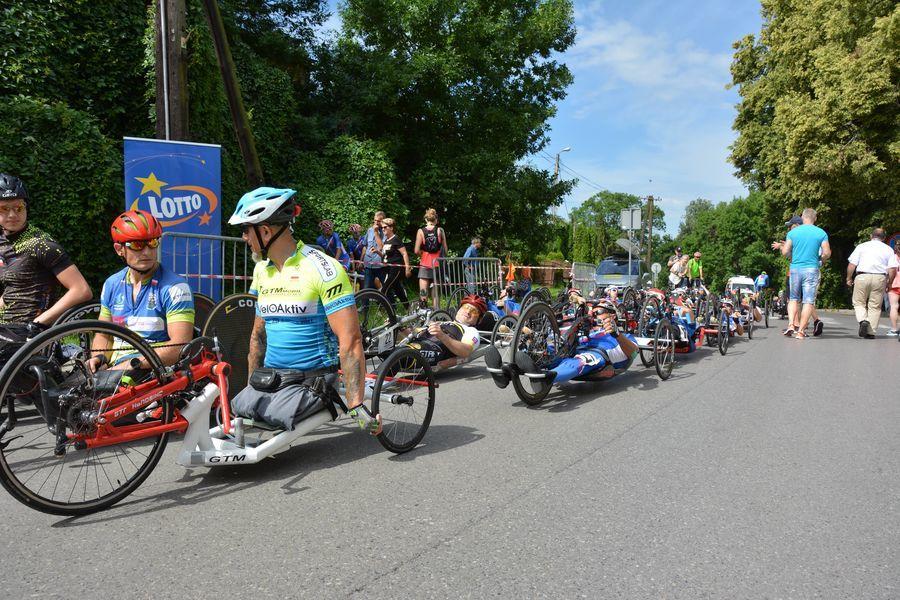 Rozpoczęcie XXIII Międzynarodowego Wyścigu Kolarskiego o Puchar Marszałka Lubelszczyzny w Parakolarstwie