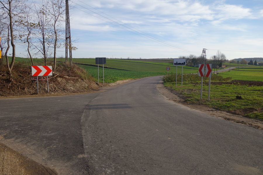 Droga w  Gutanowie 2