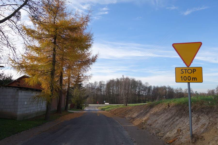 Droga w  Gutanowie 6