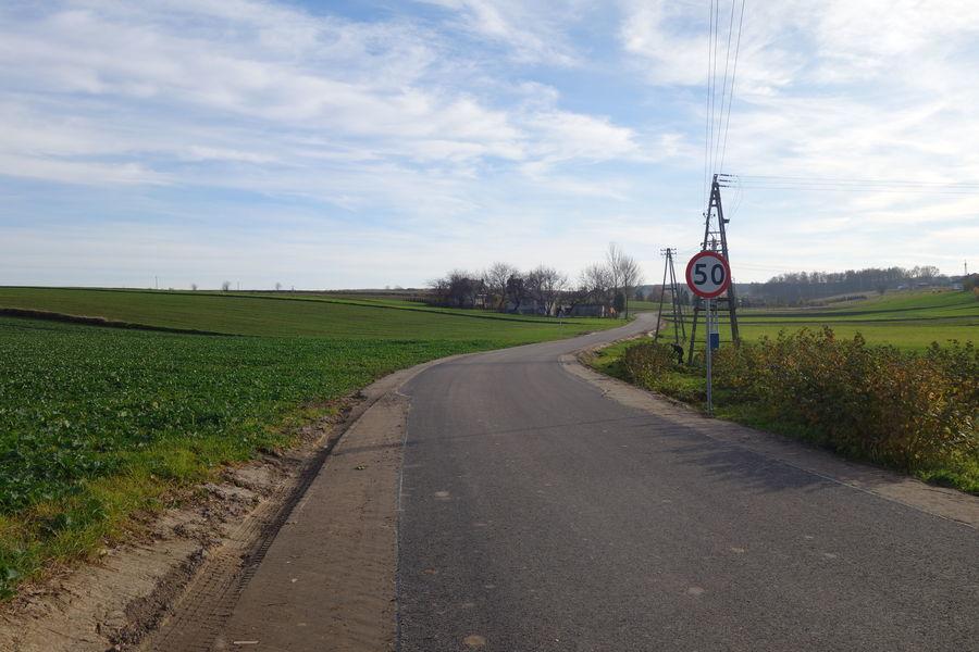 Droga w  Gutanowie 4