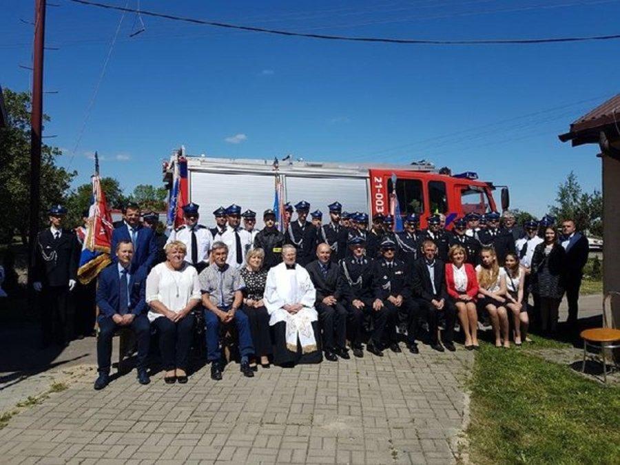 Strażackie święto w Majdanie Mętowskim