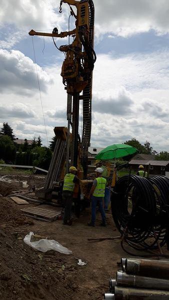 Rozbudowa szkoły w Kalinówce - czerwiec 2018