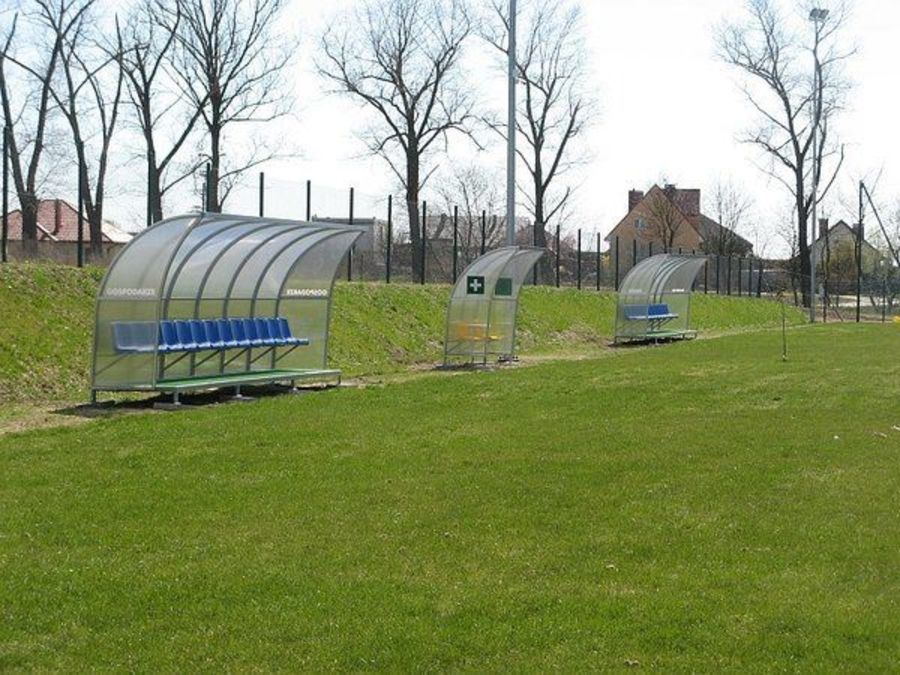 Nowe boisko przed otwarciem