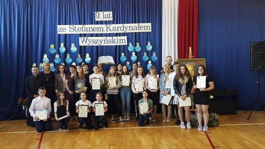 Patronackie święto szkoły w Wilczopolu-Kolonii