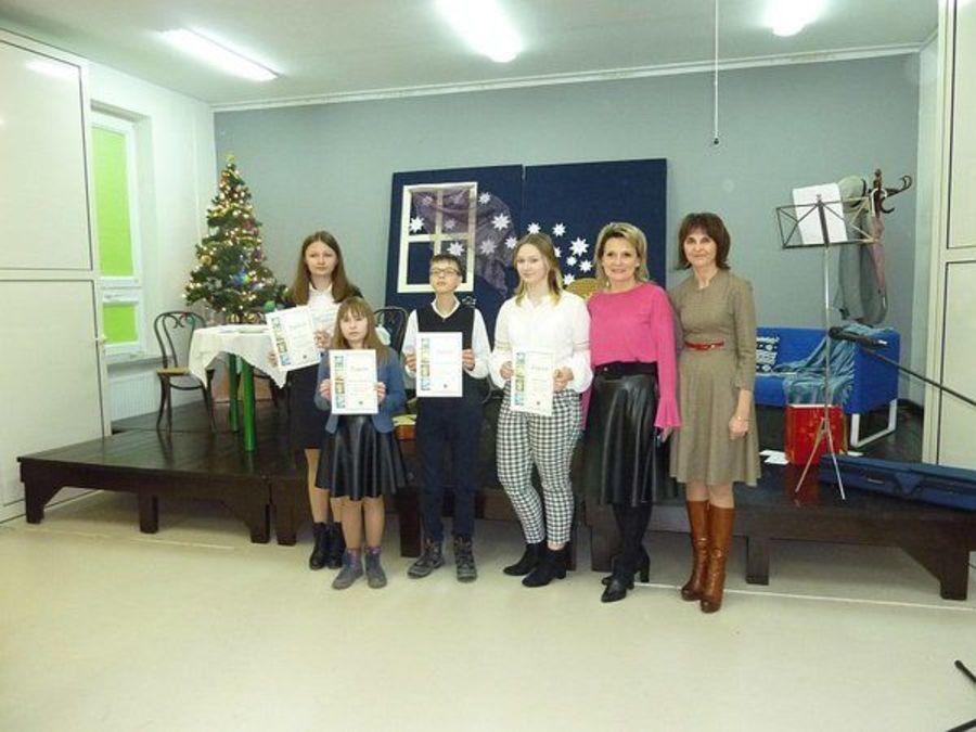 Nagrody za świąteczne życzenia uczniów z Wilczopola