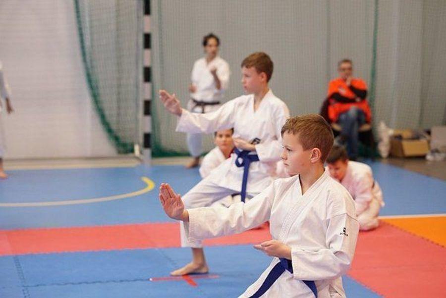 Liga karateków rozpoczęta