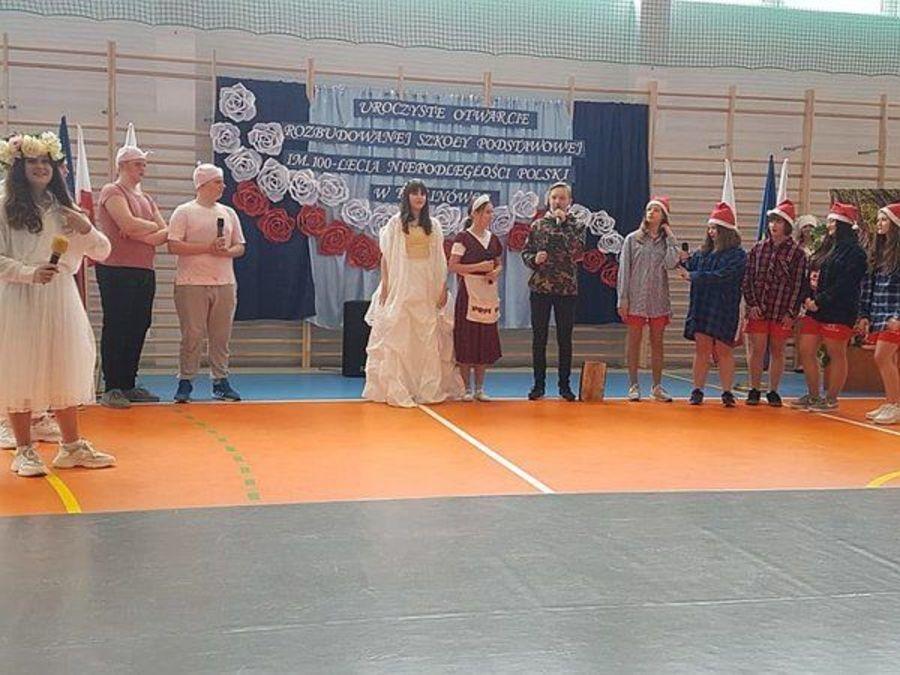 Uroczyste podsumowanie rozbudowy szkoły w Kalinówce