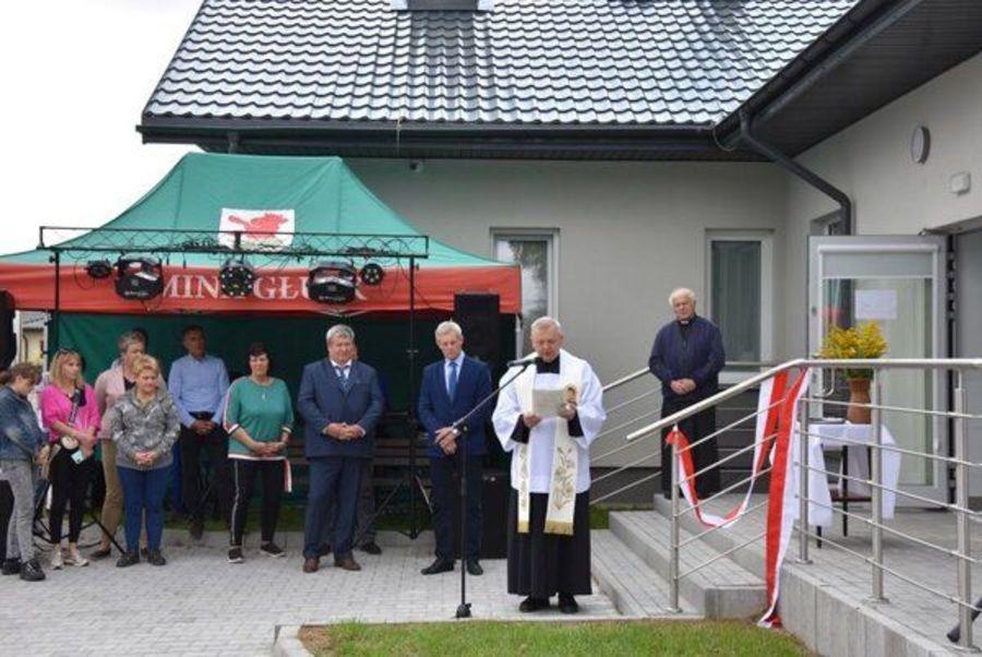 Świetlica w Kazimierzówce oficjalnie otwarta