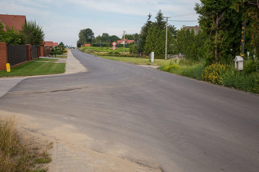 Przebudowa ul. Akacjowej w Jakubowicach Konińskich