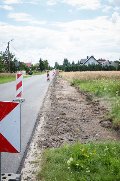 Budowa ścieżki rowerowej w Rudce Kozłowieckiej
