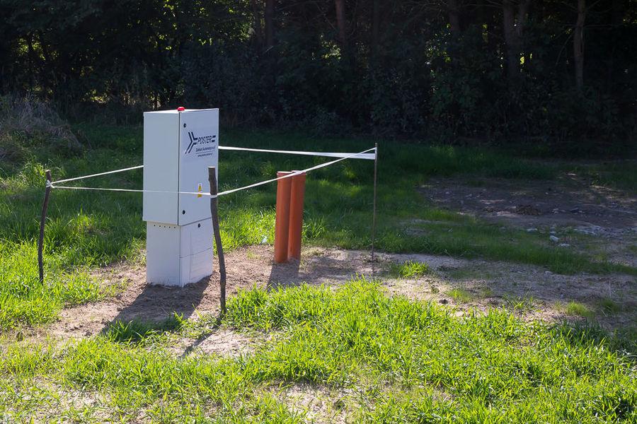 Na zdjęciu instalacja przepompowni ścieków w Elizówce