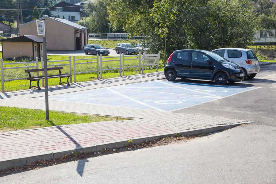 Na zdjęciu Park & Ride w Dysie