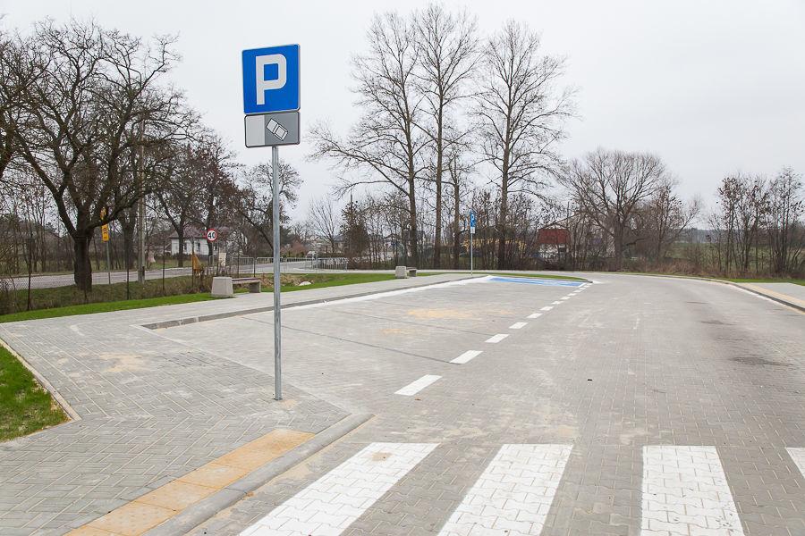 Na zdjęciu parking przesiadkowy