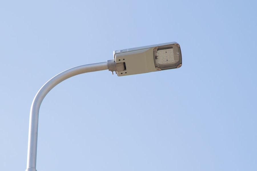 Na zdjęciu oświetlenie uliczne w miejscowości Wola Niemiecka